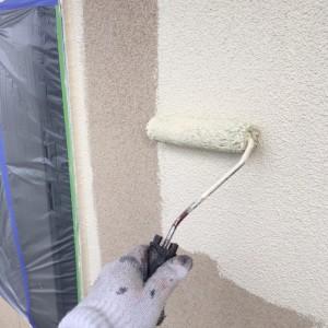 2F外壁中塗り1