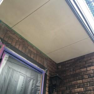 軒天塗装2