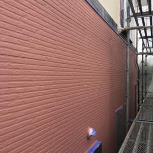 外壁中塗り(カラリアートベース3