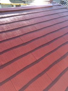 屋根上塗り4