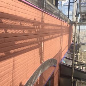 外壁ベース塗装3