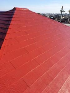 屋根上塗り6