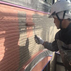 外壁ベース塗装2