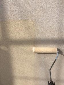ベランダ内外壁下塗り2