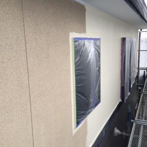 2F外壁中塗り2