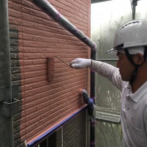 外壁中塗り(カラリアートベース2