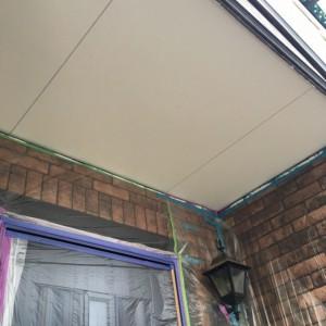 軒天塗装3
