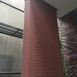 外壁中塗り(カラリアートベース13