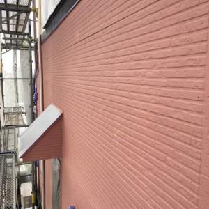 外壁中塗り(カラリアートベース8