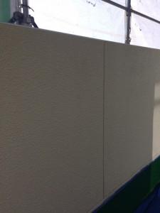 ベランダ外壁上塗り4