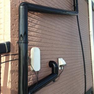 雨樋、配管塗装6