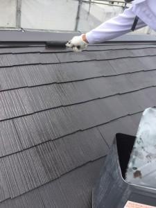 浜北区高畑 屋根 塗装2回目_9156