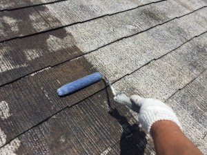 屋根シーラー2回目3