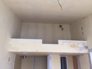 マリアパレス 枠塗装 玄関シーリング_9330