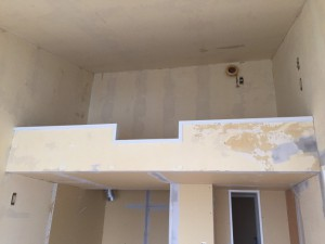 マリアパレス 枠塗装 玄関シーリング_1051