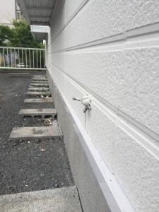 マリアパレス 枠塗装 玄関シーリング_5659
