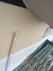 1階2階軒天 2階 壁 中塗_1648 (1)