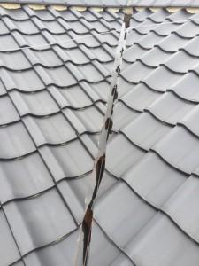 屋根銅板クリアー ベランダ 防水_5878 (3)