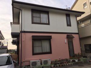 浜松市中区・S様 外壁塗装 屋根塗装工事 参考費用120万円