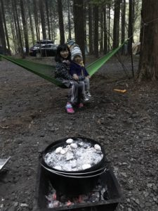 キャンプ♪
