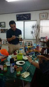 ・エイジング塗装教室を行ないました。・塗装勉強会のお知らせ。