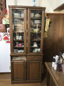 食器棚リメイク♪