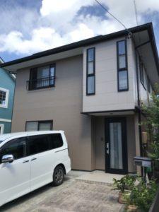浜松市中区・T様邸 外壁・屋根塗装工事