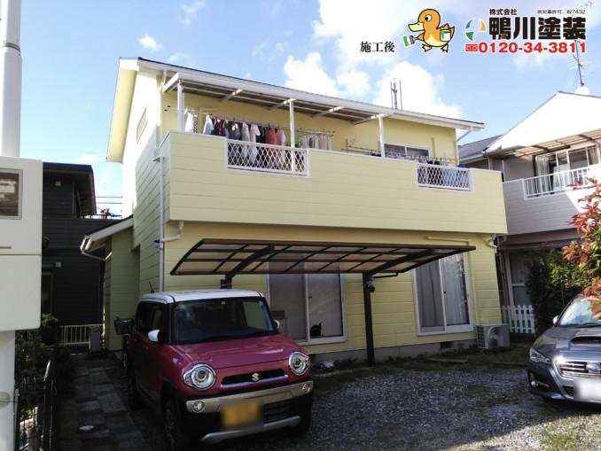 浜松市浜北区・S様邸 外壁・屋根塗装工事