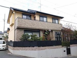 浜松市東区 H様邸「外壁塗装リフォーム」の事例紹介|色褪せた外観に新築当初のツヤが復活!