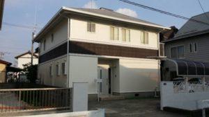 浜松市南区 K様邸「屋根工事・外壁リフォーム」の事例紹介|全面塗装で外観が引き締まりました