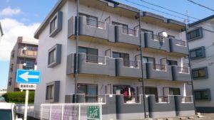 浜松市 マンションの外壁塗装リフォームの事例紹介|色を塗り分けメリハリのある外観に!