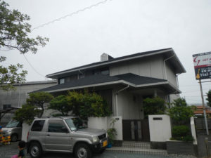 浜松市東区 施工前の外観