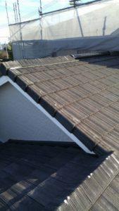 浜松市東区 屋根塗装前