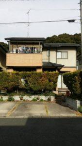 【浜松市北区】外壁塗装リフォームの事例紹介|外壁をシックな色合いに再塗装
