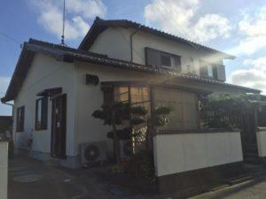 【浜松市南区】外壁塗装リフォームの事例紹介|ガイナとフッ素塗装でお家をピカピカ快適に!