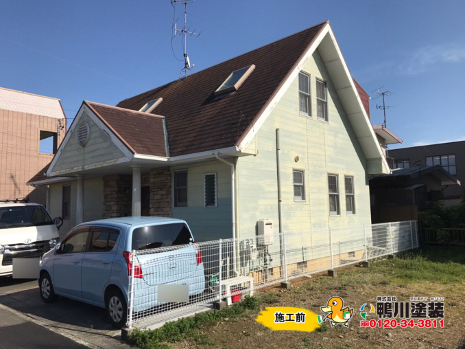 浜松市東区・U様邸の外壁塗装工事をさせて頂きました!!