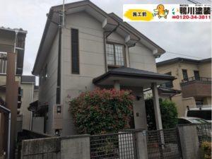 浜松市中区K様邸 外壁、屋根塗装工事