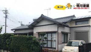 浜松市東区 I様邸 外壁塗装リフォームの事例紹介|お家の外観をしっかり・キレイに再塗装!