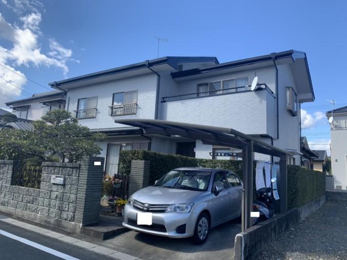 浜松市浜北区K様邸 外壁、屋根塗装工事