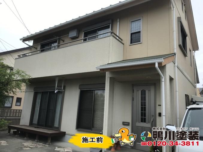浜松市中区H様邸外壁・屋根塗装工事