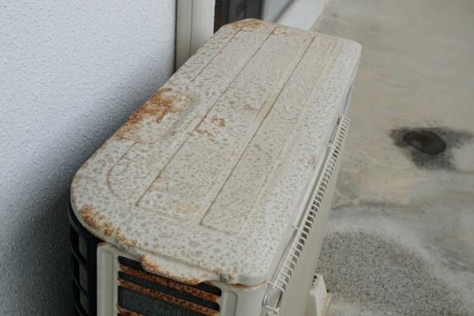 エアコン室外機防錆塗装