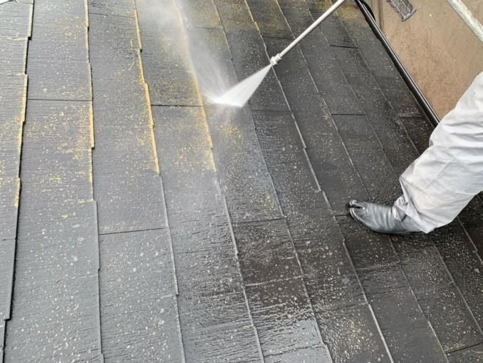 屋根・外壁高圧水洗浄