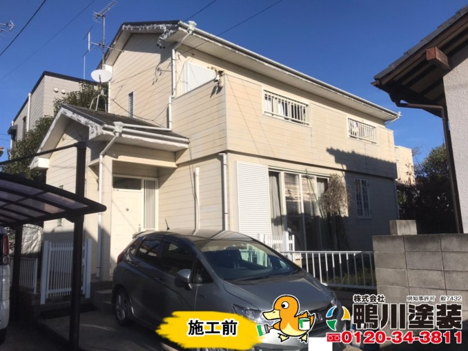 浜松市中区E様邸 外壁・屋根塗装工事