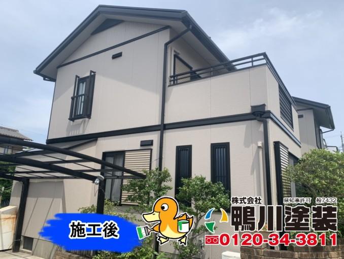 浜松市東区K様邸 外壁・屋根塗装工事