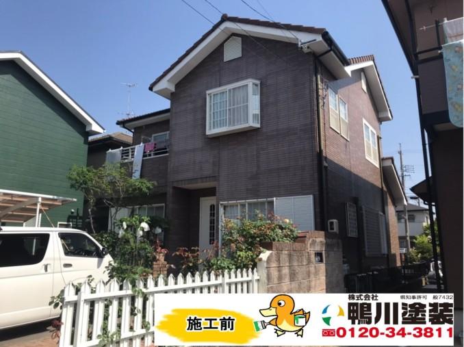 浜松市東区S様邸外壁・屋根塗装工事