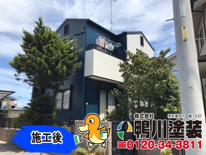 浜松市浜北区E様邸 外壁・屋根塗装工事