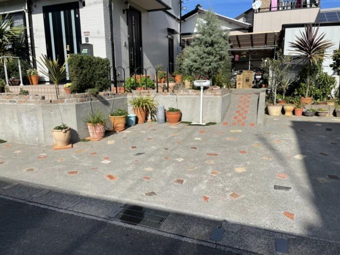 浜松市中区 O様邸 外壁塗装工事・土間洗浄