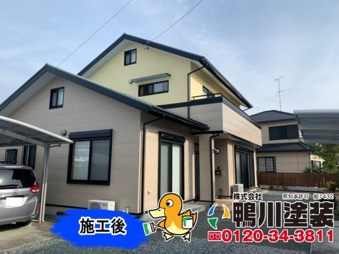 浜松市東区I様邸 外壁・屋根塗装工事