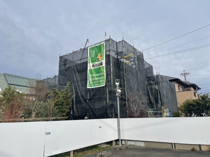 浜松市東区S様邸の外壁塗装工事