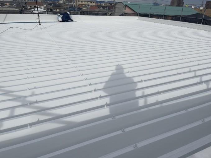浜松市東区・工場での外壁・屋根塗装